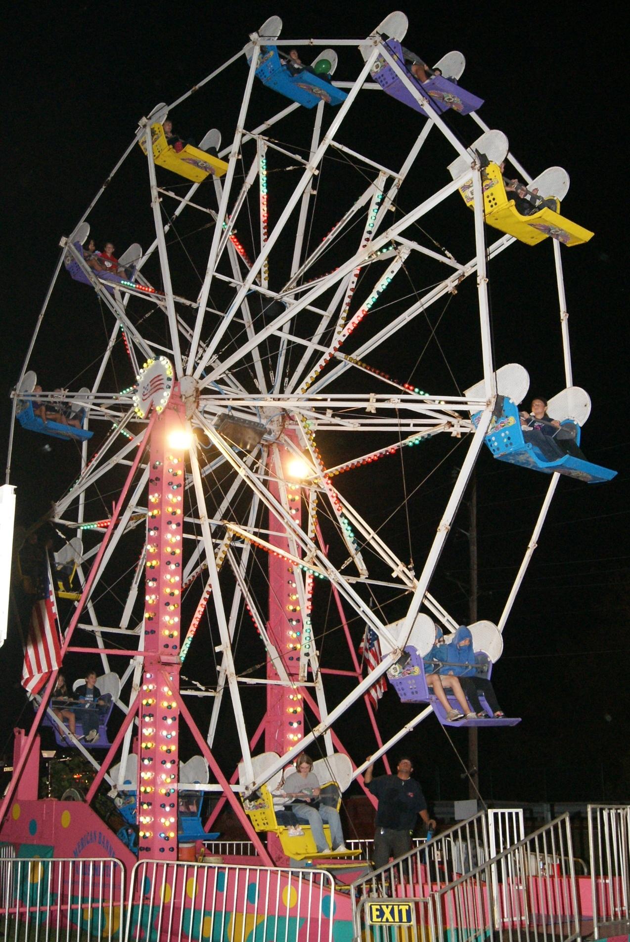 Eureka Days Carnival Rides