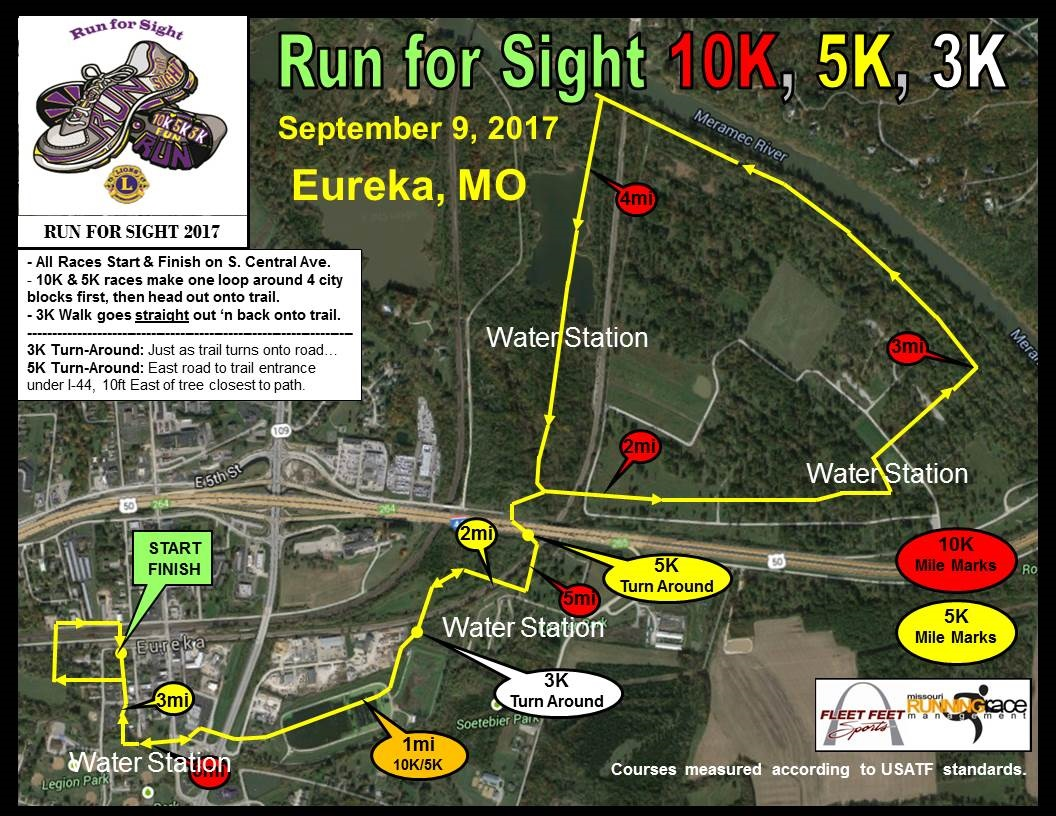 2016 Run for Sight Course